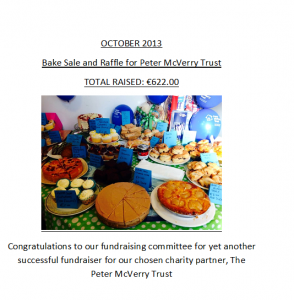Annual Fundraiser -Peter McVerry Trust